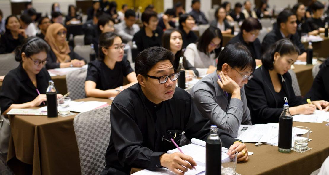 โครงการอบรมหลักสูตรพัฒนาผู้ประเมินฯ ตามเกณฑ์ AUN-QA Tier 1