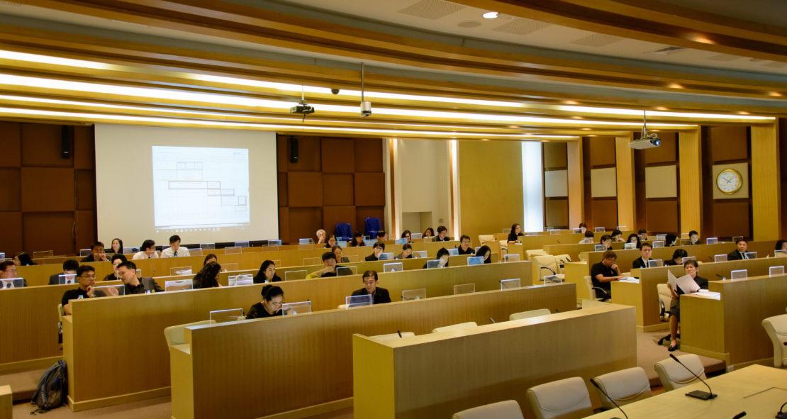 การประชุมคณะอนุกรรมการดำเนินการคัดเลือกบุคคลเข้าศึกษาในสถาบันอุดมศึกษา ครั้งที่ 5/2560