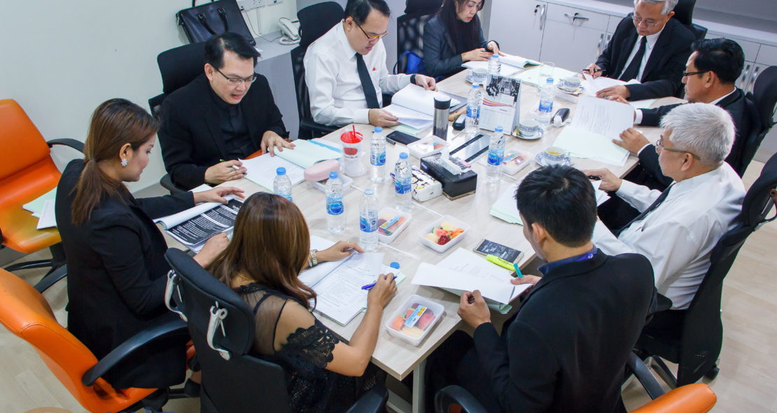 การประชุมคณะกรรมการพัฒนาศักยภาพ และคุณธรรมนิสิตนักศึกษา ครั้งที่ 1/2560