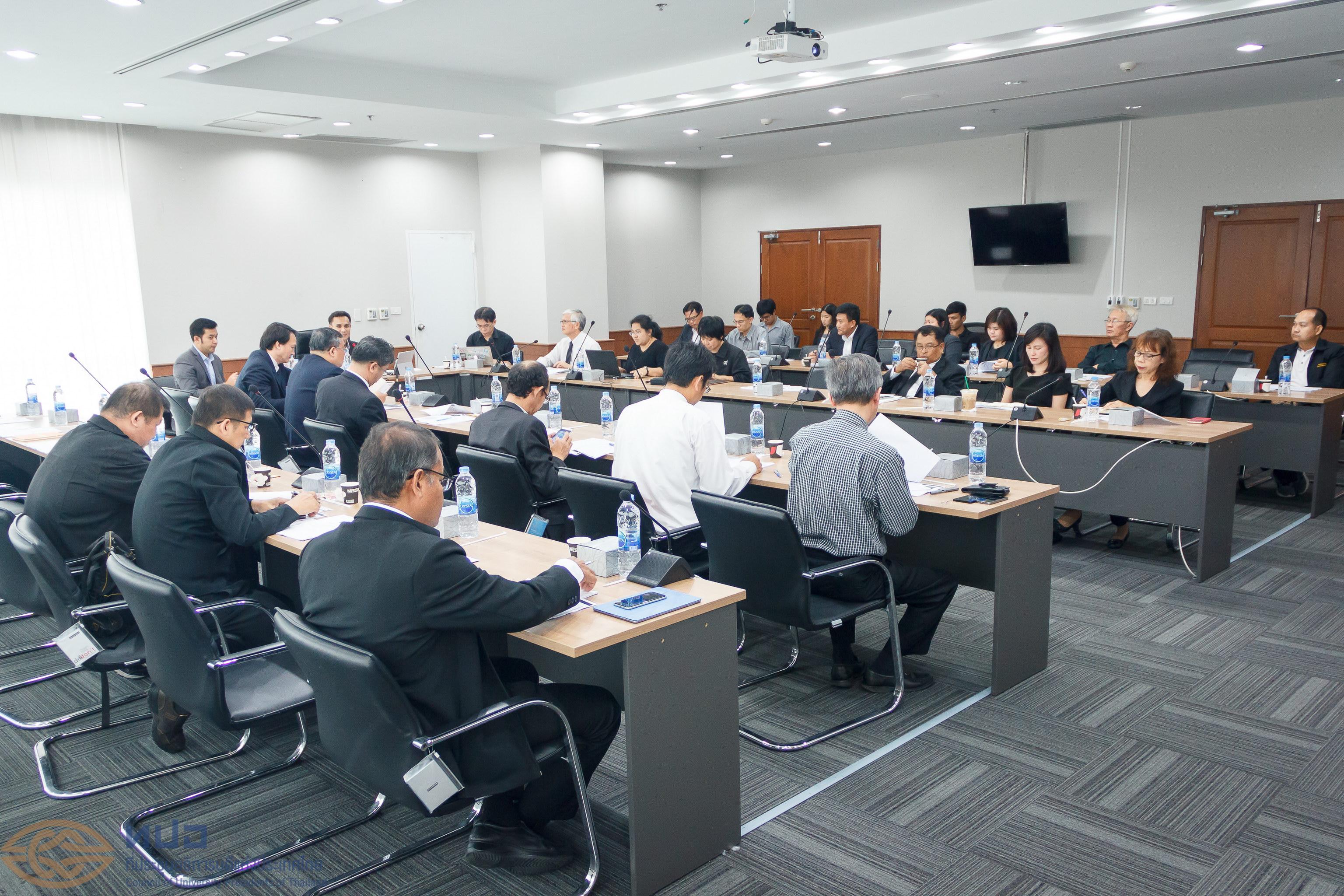 การประชุมหารือโครงการความร่วมมือการพัฒนาระบบฐานข้อมูล UNICAD