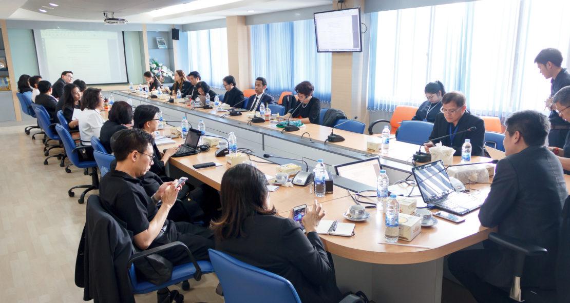 การประชุมคณะกรรมการวิจัยและนวัตกรรมที่ประชุมอธิการบดีแห่งประเทศไทย ครั้งที่ 5/2560