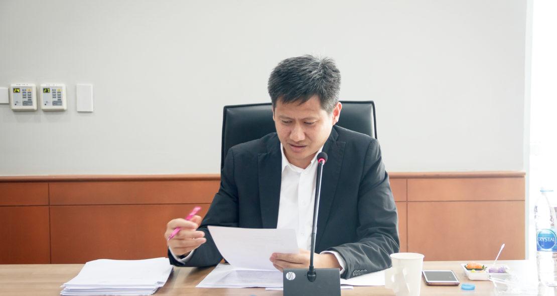 การประชุมคณะกรรมการวิจัยและนวัตกรรมที่ประชุมอธิการบดีแห่งประเทศไทย ครั้งที่ 6/2560