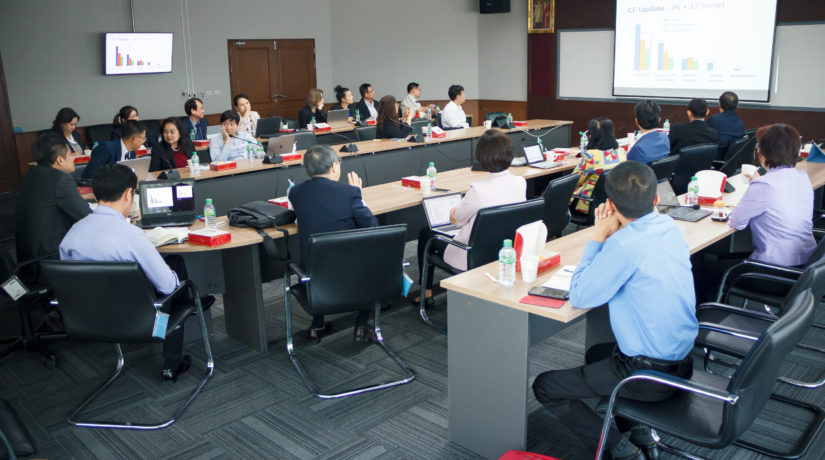 The CUPT's Research and Innovation Committee Meeting 2/2018