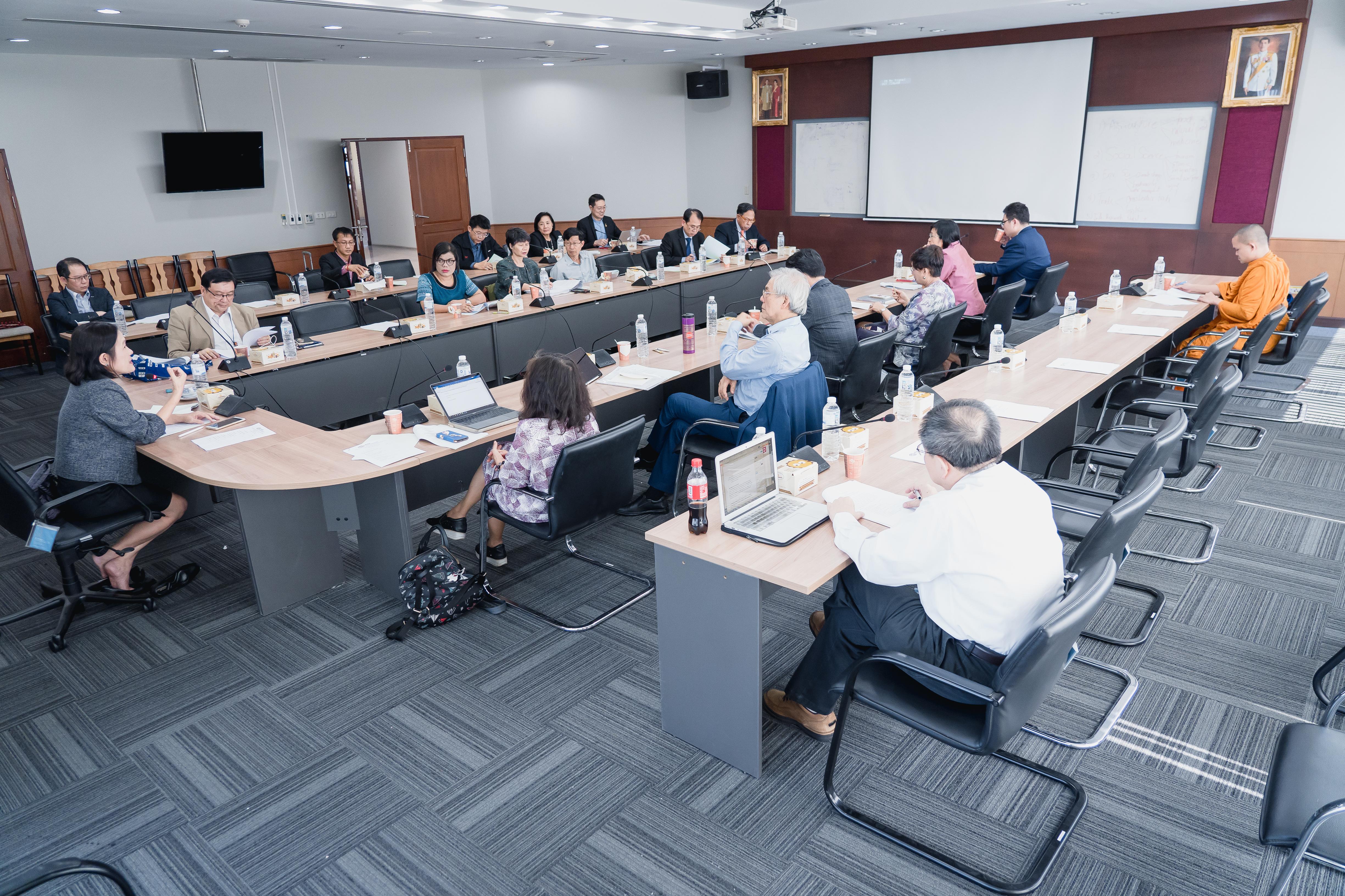 การประชุมคณะกรรมการวิชาการที่ประชุมอธิการบดีแห่งประเทศไทยครั้งที่ 3/2561