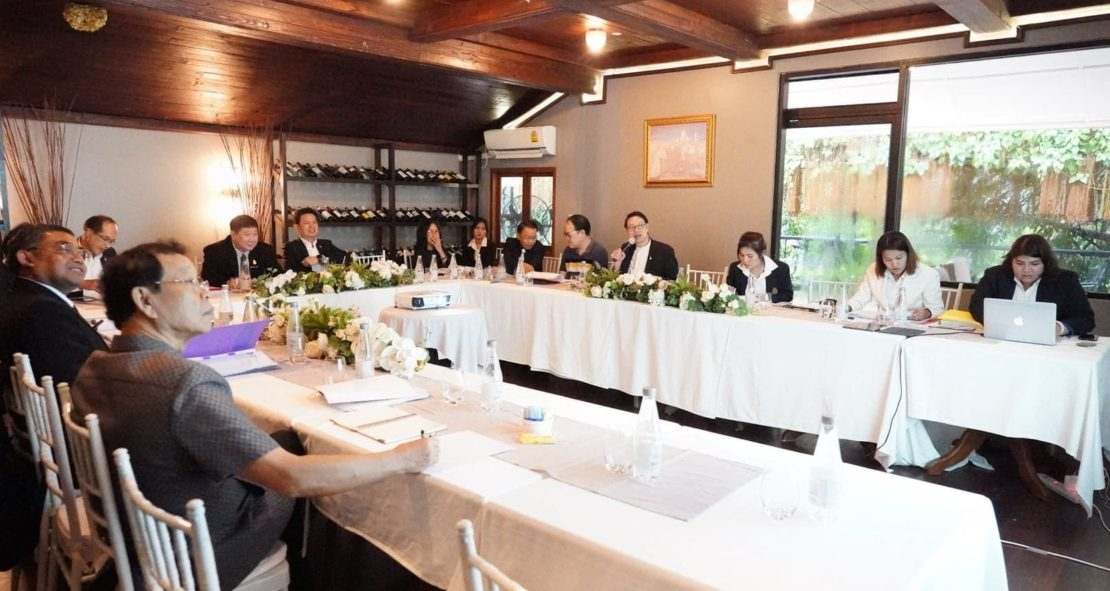 การประชุมคณะกรรมการบริหารที่ประชุมอธิการบดีแห่งประเทศไทย และสมาคมที่ประชุมอธิการบดีแห่งประเทศไทย ครั้งที่ 3/2562 และการประชุมหารือการขับเคลื่อนกระทรวงการอุดมศึกษา วิทยาศาสตร์ วิจัย และนวัตกรรม (อว.)