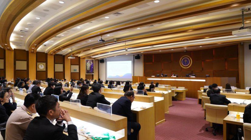 ที่ประชุมอธิการบดีแห่งประเทศไทยได้จัดการประชุมชี้แจงแนวทางการส่งข้อมูลเงินนอกงบประมาณของมหาวิทยาลัย