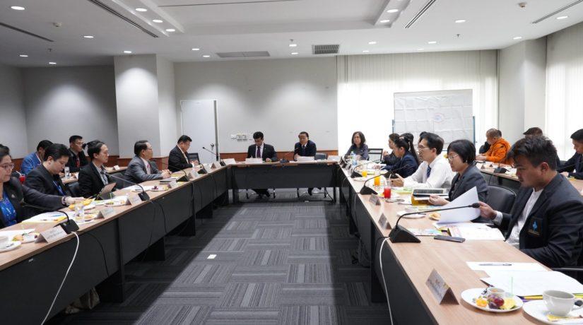 การประชุมหารือโครงการเวทีวิชาการด้านคุณธรรมประจำปี 2562 และการเสวนามหาวิทยาลัยกับอนาคตคุณธรรมของสังคมไทย